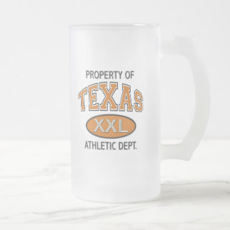PROPERTY OF TEXAS ATHLETIC DEPT. COFFEE MUGS