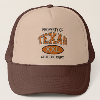 PROPERTY OF TEXAS ATHLETIC DEPT. TRUCKER HAT