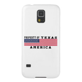Property Of Texas Galaxy S5 Cover