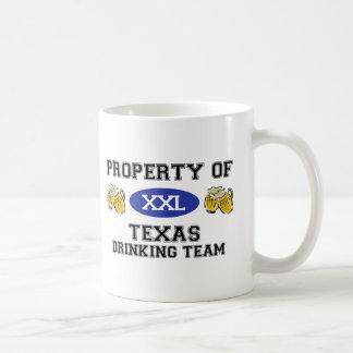 Property of Texas Drinking Team Coffee Mugs