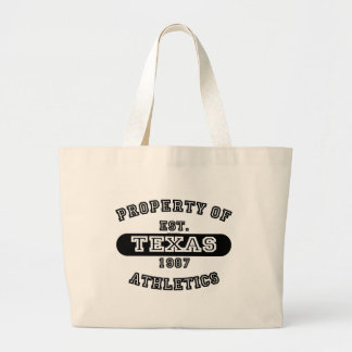 Property of Texas shirts Canvas Bags