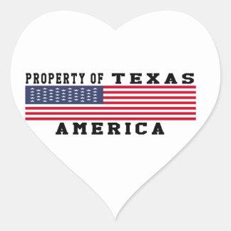 Property Of Texas Sticker