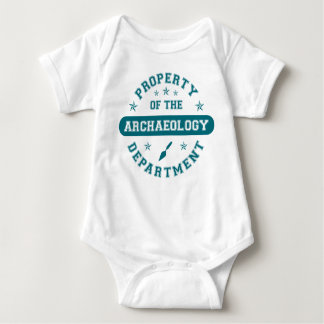 Property of the Archaeology Department Baby Bodysuit