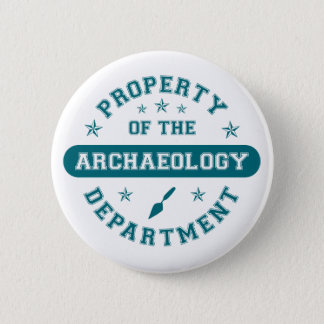 Property of the Archaeology Department Button