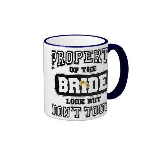 Property Of the Bride Ringer Mug