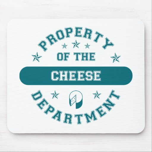 Property of the Cheese Department Mouse Mats