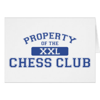 Property Of The Chess Club XXL Card