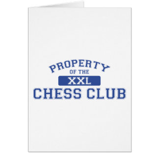 Property Of The Chess Club XXL Greeting Card