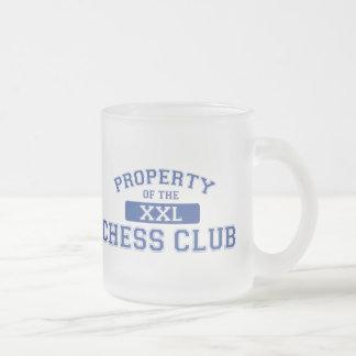 Property Of The Chess Club XXL Coffee Mugs