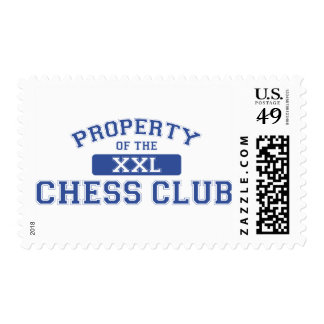 Property Of The Chess Club XXL Stamp