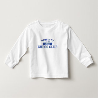 Property Of The Chess Club XXL Toddler T-shirt