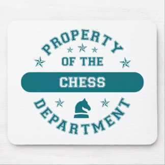 Property of the Chess Department Mouse Pads