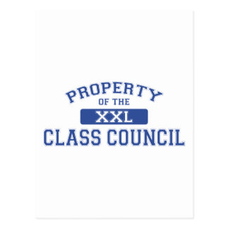 Property Of The Class Council Postcard