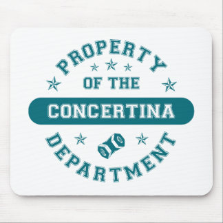 Property of the Concertina Department Mouse Pad
