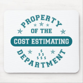 Property of the Cost Estimating Department Mouse Pad