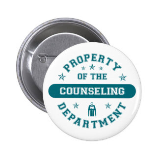 Property of the Counseling Department Pins