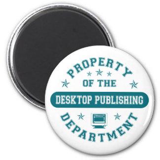 Property of the Desktop Publishing Department Fridge Magnets
