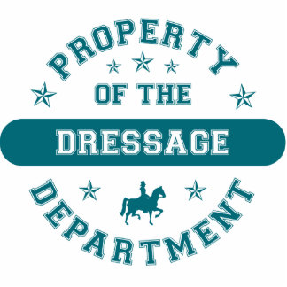 Property of the Dressage Department Photo Sculpture Ornament