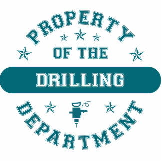 Property of the Drilling Department Photo Sculpture Ornament