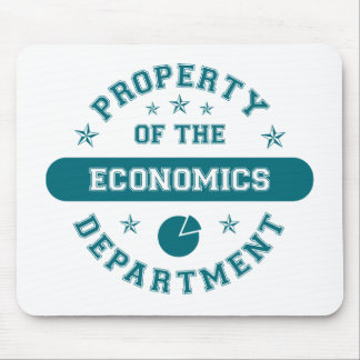 Property of the Economics Department Mouse Mat