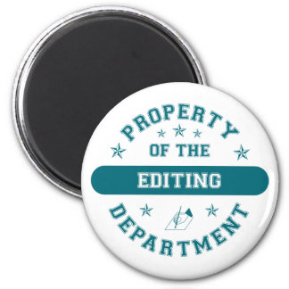 Property of the Editing Department Magnets