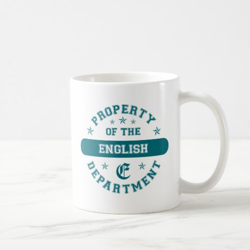 Property of the English Department Mug