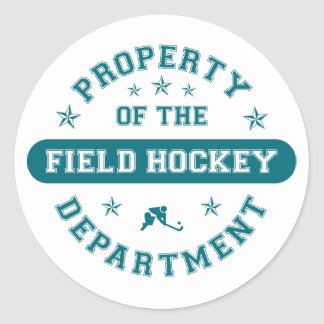 Property of the Field Hockey Department Sticker