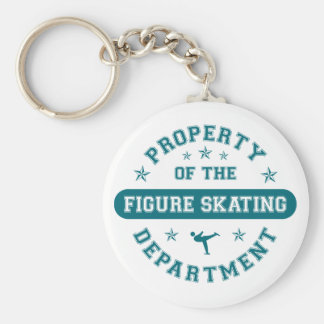 Property of the Figure Skating Department Keychain