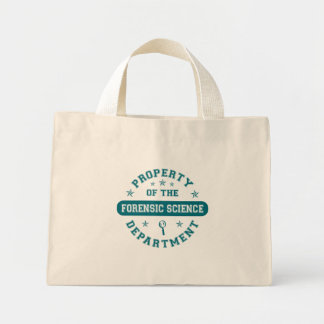 Property of the Forensic Science Department Canvas Bags