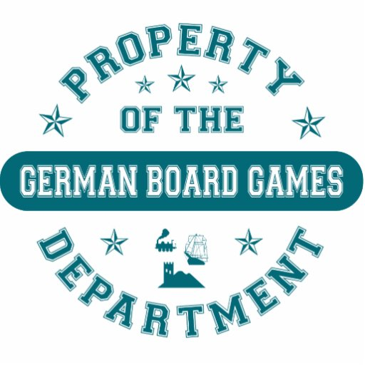 Property of the German Board Games Department Cut Outs