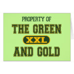 Property of The Green and Gold1