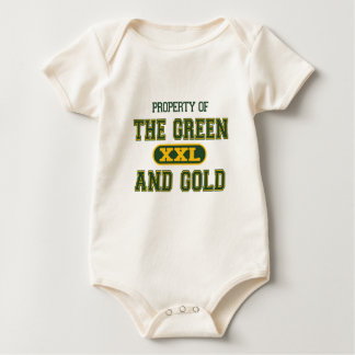 Property of The Green and Gold1 Baby Bodysuit