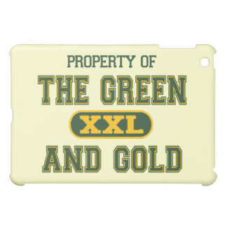 Property of The Green and Gold1 iPad Mini Case