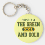 Property of The Green and Gold1 Keychain