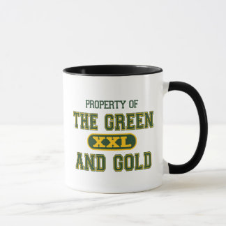 Property of The Green and Gold1 Mug