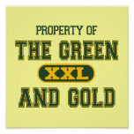 Property of The Green and Gold1 Poster