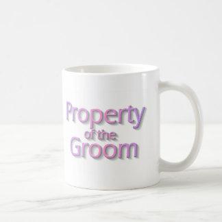 Property Of The Groom Classic White Coffee Mug