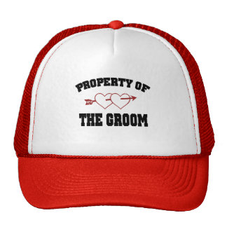 Property of the Groom Trucker Hat