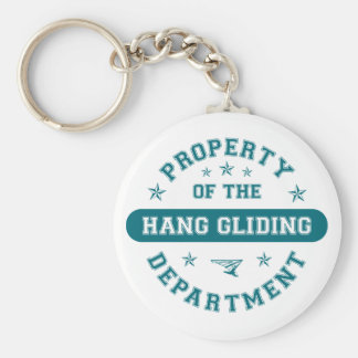 Property of the Hang Gliding Department Basic Round Button Keychain