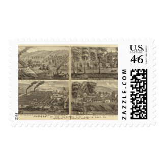 Property of the Hartford City Coal and Salt Postage