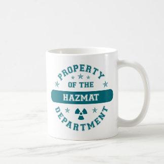 Property of the Hazmat Department Coffee Mug