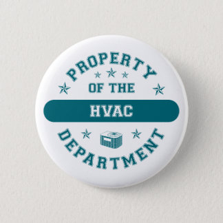 Property of the HVAC Department Pinback Button