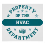 Property of the HVAC Department Poster