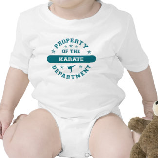 Property of the Karate Department T-shirt