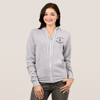 Property of the London Clan Zip Up Hoodie Women