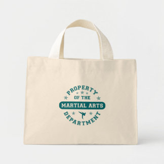 Property of the Martial Arts Department Bags