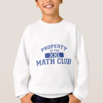 Property Of The Math Club XXL Sweatshirt