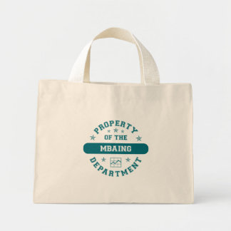 Property of the MBAing Department Canvas Bag