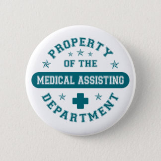 Property of the Medical Assisting Department Button