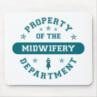 Property of the Midwifery Department Mouse Pad